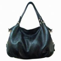 Quality Portable Womens Handmade Leather Handbags Tote For Office Lady Working for sale