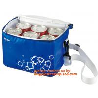 Quality polyester cheap simple insulated cooler bag for food, Promotional custom recyclable aluminum foil picnic insulated lunch for sale