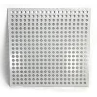 Quality Aluminum Square Hole Perforated Metal Sheet For Room Division for sale