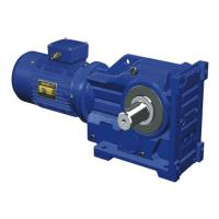 Quality 22kW K87/K97/K107 Ratio 19.45/30.82/32.69 5: 1 ratio gearbox worm gear slew drives for sale