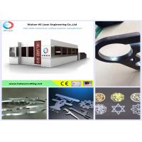 High Speed Aluminum / Copper Metal Laser Cutting Machine For Fire Control Industry