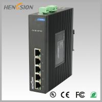 Quality Fanless Dinrail Industrial Level Ethernet Network Switch For Plug And Play for sale