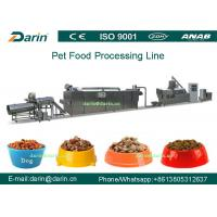 Quality Dog Fish Cat Pet Food Extruder equipment / machine , Dry pet food machinery for sale