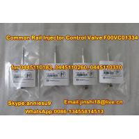 Quality Bosch Common Rail Injector Valve F00VC01334 for 0445110183  0445110260  0445110310 for sale
