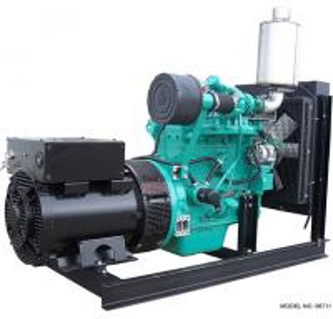 Quality 50KVA 40KW CUMMINS Diesel Generator Set , 1500 RPM Diesel Generator With Stamford Alternator for sale