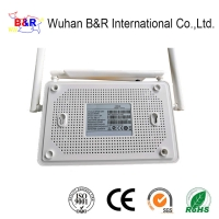 Quality 4GE 2.4G 5G WIFI Dual Band GEPON ONT With 4 External Antenna for sale