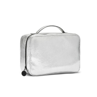 China Wholesale Fashion Large Capacity Waterproof Travel Cosmetic Bag with Zipper on sale