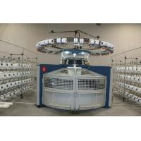 Quality High Speed Open Width Circular Knitting Machine Double Jersey Easy Operation for sale