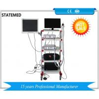 Quality Medical Endoscopy Camera System With Led Light Source / Endoscopy Trolley for sale