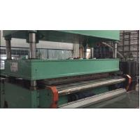 Quality Continuous Available Carpet Tile Cutting Machine 120cm Width 12 KW Total Power for sale