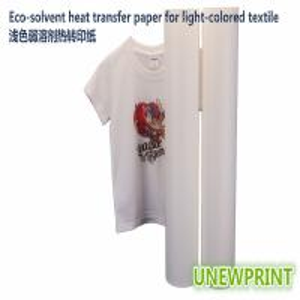 Quality 1.11m*30m light color eco solvent PU wholesale factory made roland mimaki printer heat transfer vinyl for sale