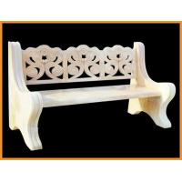 Quality Pure Handmade Carving Marble Garden Ornaments With Outdoor Stone Bench for sale