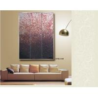 Hand painted decorative glass wall panels for sofa - Decorative glass wall panels ...