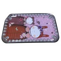 Quality Custom Large Rectangle Tin Tray With CMYK Print for sale