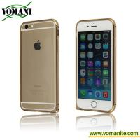 Quality Aluminum metal frame bumper with TPU bumper case for Iphone 6s for sale