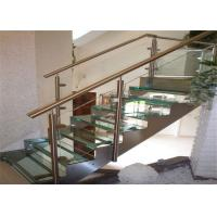 Quality China Indoor Straight Staircase Solid Wood Steps Stairs Design Staircase Systems For You for sale