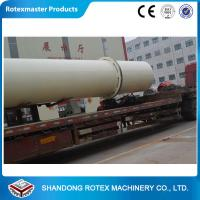 China High Capacity Rotary Drum Dryer For Organic Fertilizer Industry , Mining on sale