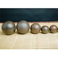 Quality High Hardness Steel Grinding Media Balls Multipurpose For Cement Mill for sale