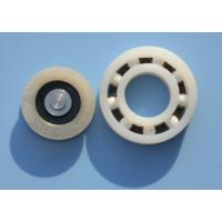 Buy POM / PA66 High Precision Plastic Plain Bearings With Glass Stainless Balls at wholesale prices