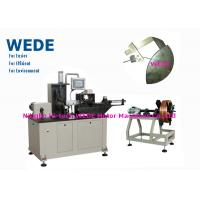 Quality 3kw Flat Wire Winding Machine With Insulation Paper Inserting Machine for sale