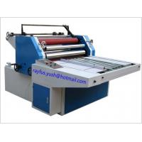 Quality Water Based Film Laminator Machine Output Roll By Tension / Sheet To Sheet Laminating Machine for sale