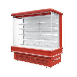 China Vertical Fruit Vegetable Open Display Refrigerator For Supermarket on sale