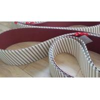 Felt pressure chevron belts/felt cross belt/segmented pressure belts used in wide belt sanding machine in panel indutry