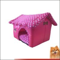 Doggie beds Sponge Oxford Polyester Dog Bed Pet Products China Factory