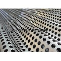 China Anti - Static Corrugated Perforated Metal Sheet Sound Barrier Dust And Sunshine Proof Screen Mesh on sale