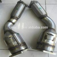 Quality Three Way Car Catalytic Converter Shell for Porsche Cayenne Turbo Cleaner 955113021BX 955113022BX for sale