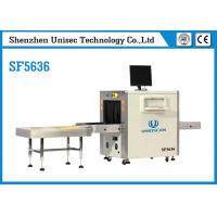 Buy cheap Metro Station X Ray Baggage Scanner 34mm Penetration Resolution SF5030C from wholesalers