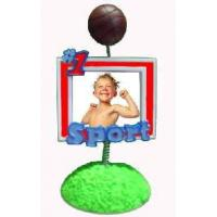 China polyresin baby photoframe on sale