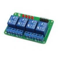 Quality home appliances Arduino 4 relay expansion board relay module for 51 / AVR / AVR / ARM for sale