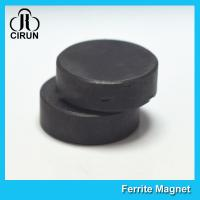 Quality Y30BH Disc Shape Ferrite Magnet , Round Disk Magnets Dia 18mm * 5mm for sale