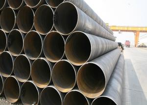 China ss spiral 2m diameter steel pipe For Liquid Delivery, Petroleum Industry on sale
