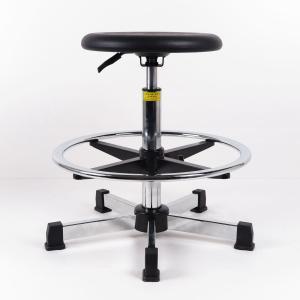 Quality High Durability ESD Task Chair Self Skinny Urethane Seat Polyurethane Material for sale