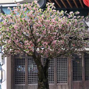 China Romantic Big Artificial Blossom Tree Sakura Flower Supermarket Decoration on sale