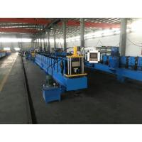 Quality Half Round / Rectangular Gutter Roll Forming Machine with hydraulic cutting for sale