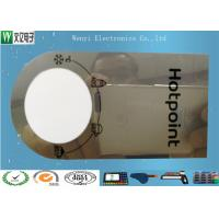 Quality 0.15mm Mirror PC Membrane Switches Graphic Overlays With Silver Effect Silk Screen Print for sale