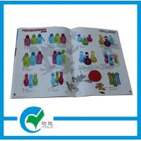 Quality A4 Commercial Custom Catalog Printing with Looped String Binding and Gloss / Matt Paper for sale