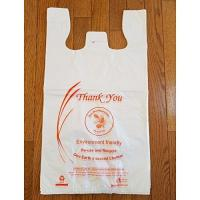 Quality Reusable Biodegradable Plastic Shopping Bags Good Insulating Property With Logos for sale