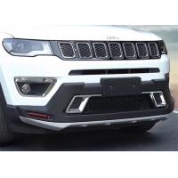 Quality Solid Car Bumper Guard Front And Rear fit for JEEP Compass 2017 for sale