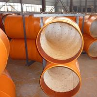 Quality Ceramic Tile Lined Steel Pipes for sale
