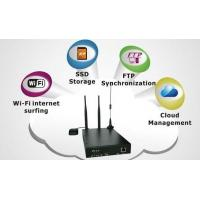 Quality SC VWR-H93 Industrial Grade Vehicle 3G/4G BUS WiFi Router, Centralized Application Service for sale