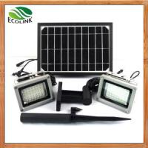 Quality China Solar Energy /Solar Power Dual Outdoor LED Floodlight for Garden for sale