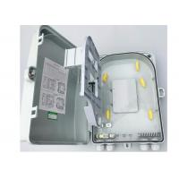 Top Quality Fiber Optic Distribution Box With Splicing Tray, Rack Mounted Splitter Box