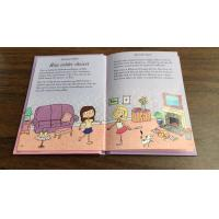 China Children English Education Hardbound Book Printing With Gold Foil For Story Books on sale