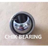 Quality Chrome Steel Radial Spherical Plain Bearings For Hydraulic Excavators , CE ISO 9001 for sale