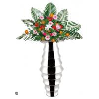 China Bamboo Stainless steel flower vase SHKT-4014,metal vase on sale