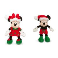 Quality Red Disney Plush Toys Christmas Mickey Mouse Stuffed 45cm Customized for sale